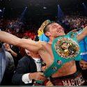'Maravilla' Martínez solicita renovación de su licencia para boxear
