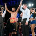 Carlos García / Entró al ring como 'carne de cañón' y salió con una victoria por nocaut