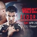 Fedor Meets Frank Mir on April 28 at Allstate Arena in Bellator Heavyweight World Grand Prix Matchup