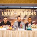 Usyk and Briedis face to face in Riga: Legacy is at stake