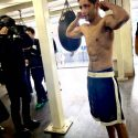 Boxeador Moisés Fuentes habló con la prensa japonesa