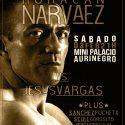 Omar Nárvaez vs. Jesús Vargas, sábado 3/2 en Puerto Madryn