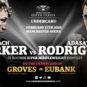 Parker confirmed as reserve for Groves-Eubank Ali Trophy clash