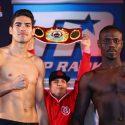Pesaje Oficial: Gilberto Ramírez 168 lbs – vs. – Habib Ahmed 166.75 lbs