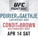 Dustin Poirier and Justin Gaethje headline UFC® debut in Glendale