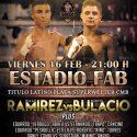 Diego Ramírez vs. Martín Bulacio este viernes en FAB. TyC Sport 23 h