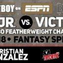 ¡Recordatorio!… Joseph 'Jojo' Díaz Jr., Víctor 'Vikingo' Terrazas, y peleadores del respaldo sostendrán un entrenamiento en Los Ángeles; hoy 15 de febrero a las 12:00 p.m. pt