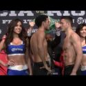 Video: Official Weigh-in: David Benavidez 167 vs. Ronald Gavril 167.25