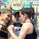 Pesaje Oficial: Mariana Juarez 117.70 vs. Gabriela Bouvier 116.80
