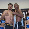 Víctor Ortíz y Devon Alexander cumplen con el peso y mañana se juegan su futuro y carrera