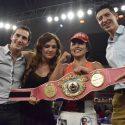 Arely ¨Ametralladora¨ Muciño se coronó campeona mundial Mosca WBO