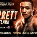 IBF european super-featherweight title on the line for Barrett v Clark