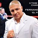 El tres veces campeón mundial Fernando Vargas ha sido confirmado para la cuarta edición de 'Box Fan Expo' el cual tomará lugar en Las Vegas en el fin de semana del cinco de mayo