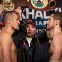 Video: Official Weigh-in: Sergey Kovalev 174.6 vs. Igor Mikhalkin 172.6