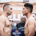Pesaje Oficial: Mikey Garcia 139 ½ lbs vs. Sergey Lipinets 139 ¾ lbs