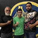 El argentino Lucas Fernández entrena en Puerto Rico para pelear en Ponce
