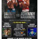 Jaime Munguia va por otro nocaut en Monterrey, México este sábado por Azteca 7, La Casa del Boxeo