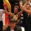 Cañizales dominó a Konishi y es el nuevo campeón AMB