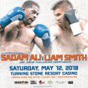 Sadam 'World Kid' Ali defendará su cetro mundial superwelter de la OMB ante Liam 'Beefy' Smith