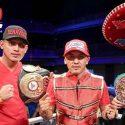 David – José Benavidez / Campeón y ex campeón mundial han sido confirmados para la cuarta edición de Box Fan Expo