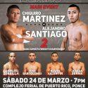 'Chiquiro' Mart¡nez vs. 'El Peque' Santiago / Otro clásico de la rivalidad entre Puerto Rico y México
