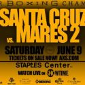 It's Official!! Leo Santa Cruz & Abner Mares Square-Off in World Title Rematch Presented by PBC Saturday, June 9
