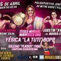 Bopp vs. Frias y Gauto vs. Liendro II este viernes en Avellaneda. TyC Sports 00 h