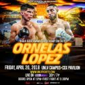 """Tony Lopez, Jr. plans to get back into bantamweight mix by defeating unbeaten prospect """"The Baby-Faced Assassin"""" Max Ornelas"""