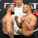 Official Weigh-in Bellator 197 : Michael Chandler (155.3) vs. Brandon Girtz (156)