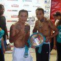 """Jasseth Noriega y """"Jaguar"""" Mejía, arriesgan sus campeonatos en homenaje a """"Mantequilla"""" Nápoles"""