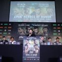 ONE Championship Kicks Off ONE: HEROES OF HONOR in Manila with Press Conference