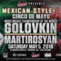 Marquez peleó ante Juárez en un lugar pequeño, por qué no Golovkin?