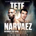 Omar Narváez vs. Zolani Tete por el mundial gallo OMB este sábado en Belfast. Televisa TyC Sports 17:00 h.