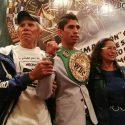 Rey Vargas a recibido el apoyo de sus padres desde que comenzó en el boxeo