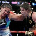 En guerra, Victoria Bustos cayó ante Katie Taylor en Brooklyn