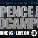 It's Official!! World Champion Errol Spence Jr. To Defend Title Against Mandatory Challenger Carlos Ocampo Saturday, June 16