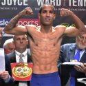 Cumple Emmanuel Rodríguez con el peso, pero su oponente no; la pelea sigue en pie