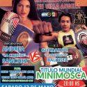 Cobrita Sánchez vs. Licenciada Bautista por mundial minimosca FIB este sábado en Chaco. TyC Sports 23 h