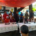 Golpes, luchas y baile en el deportivo Azcapotzalco (antes Reynosa), el domingo 27 de mayo