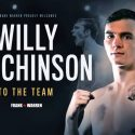 Former amateur world champion Willy hutchinson pens promotional deal with Frank Warren
