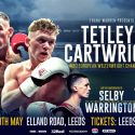 """Tetley: """"It's a fact that I've a bigger knockout percentage than Cartwright!"""""""