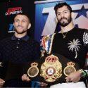 Linares y Lomachenko cara cara ante la prensa