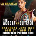 WBO light flyweight champion Tito Acosta to showcase skills & build his legacy vs. Carlos Buitrago