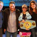 Débora Dionicius / La campeona mundial supermosca (F.I.B.) 'domó' a Luna Torroba en Argentina