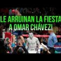 Video: Un desconocido argentino le arruina los planes a Omar Chávez… ¿Retiro?