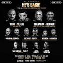Fury faces Seferi in june 9 comeback fight