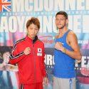 McDonnell e Inoue superaron las pruebas médicas