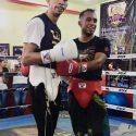 Elías Emigdio / Sparring de lujo para el campeón Rey Vargas