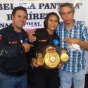 Maribel Ramírez, llegó a México con el título del mundo