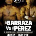 Barraza vs Pérez / Listos para combatir este viernes en Hermosillo, México